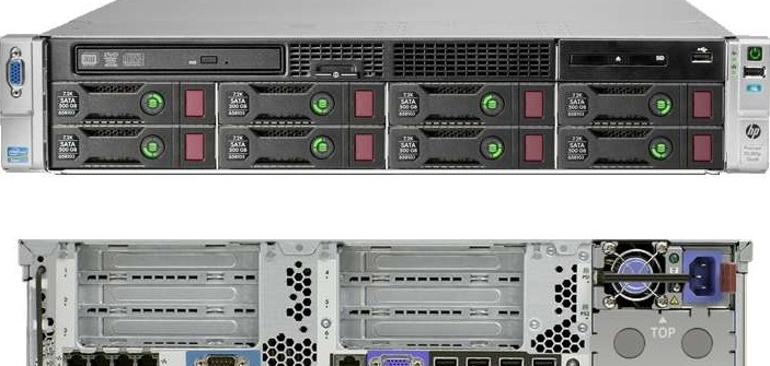 خصوصیات HP Proliant DL380p G8